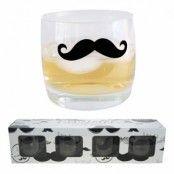 Whiskyglas Mustasch