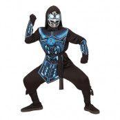 Cyber Ninja Barn Maskeraddräkt - Small