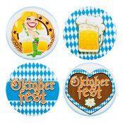 Knappar Oktoberfest - 4-pack
