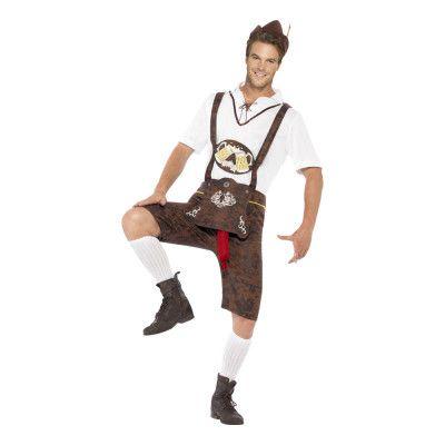 Välhängd Oktoberfest Maskeraddräkt - Medium