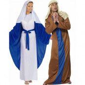 Parkostym - Jungfru Maria och Josef
