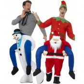 Pardräkt - Piggyback Christmas Time