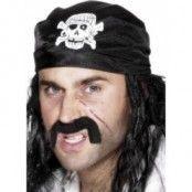 Pirat bandana döskalle och ben