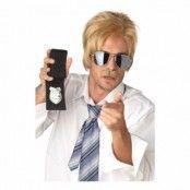 Ace Blond Detektiv Peruk - One size