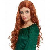 Rödbrun Medeltid / Game of Thrones Sansa Peruk