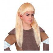 Bågskytt Blond Barnperuk - One size