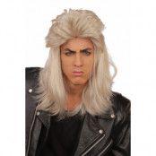 Peruk, 80-tal herr blond