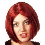 Anastasia - Röd Peruk