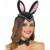 Bunny Ears - Hatt till Burlesquekostym