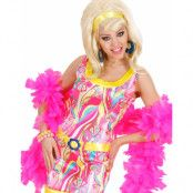 Deluxe Feather Boa 180 cm - Good Quality - Rosa