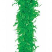 Grön Fjäderboa 180 cm