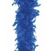 Kungsblå Fjäderboa 180 cm