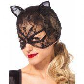 Lace Cat Mask - Kattmask med Snörning
