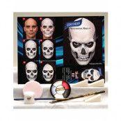 Skull Kit Graftobian Komplett Sminkset