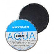 Kryolan Aquacolor Smink - Svart
