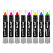 PaintGlow UV Neon Sminkpenna - Gul
