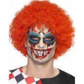 Scary Clown Sminkset med Flash Tattoo