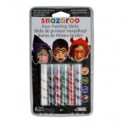 Snazaroo Ansiktsmålningskritor Halloween