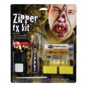 Zombie Dragkedja F/X Sminkset