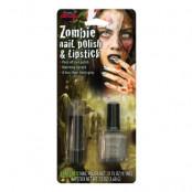 Zombie Nagellack och Läppstift