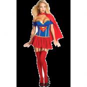 Supergirl Korsett Maskeraddräkt