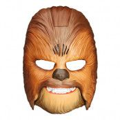 Chewbacca Mask med Ljud - One size