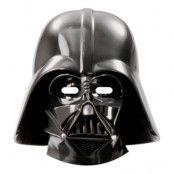 Pappmasker Darth Vader - 6-pack