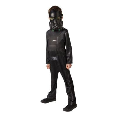 Star Wars Rouge One Death Trooper Barn Maskeraddräkt - Large