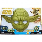 Star Wars Elektronisk Mask Yoda
