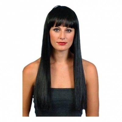 Cher Svart Peruk - One size