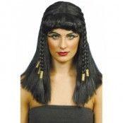 Cleopatra peruk, svart
