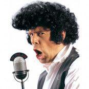 Elvis Look - Svart Peruk