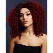 Lizzo Deluxe Wig - Kan Stylas! - Plommonlila Afro Peruk