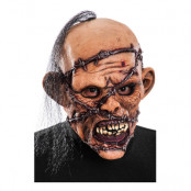 Zombie med Taggtråd Mask - One size
