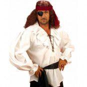 Vit Pirat/Zorro Skjorta